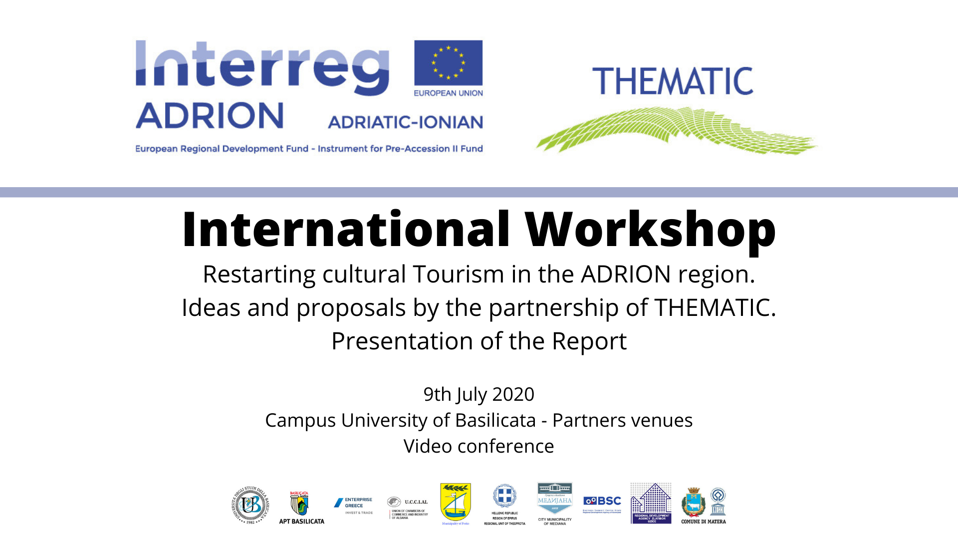 THEMATIC cover video International Workshop